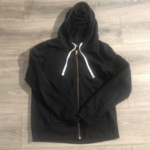 ✅Old Navy Classic Black Zip Up Hoodie Medium